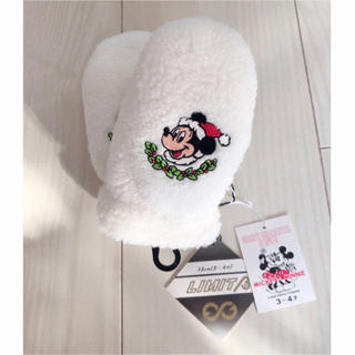 Disney - ミッキー 手袋 新品タグ付き