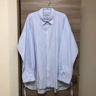 COMOLI - トワロニエ toironier ルーズシャツ シャツ