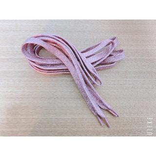 靴紐(ピンク)(スニーカー)