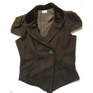フォクシー(FOXEY)のフォクシーのジャケット・黒(テーラードジャケット)
