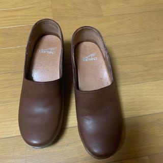 ダンスコ(dansko)の【激安】dansko プロフェッショナルワキシー ブラウン(ローファー/革靴)