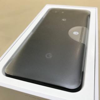 ANDROID - 【新品未使用/SIMフリー】Google Pixel 3a 64GB ブラック