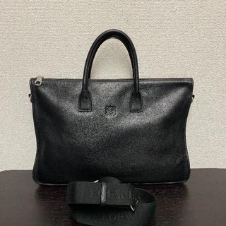 ロエベ(LOEWE)のロエベ 美品☆ ビジネスバッグ 黒 2way トレド(ビジネスバッグ)