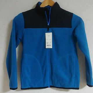 UNIQLO - 新品!UNIQLO140フリースフルジップジャケット