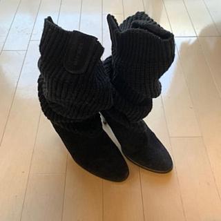 DIESEL - DIESEL(ディーゼル)*2way*黒*ブラック*ニットブーツ