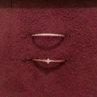 エテ(ete)のココシュニックete ピンキーリングセット イエローゴールド YG 1号3号(リング(指輪))