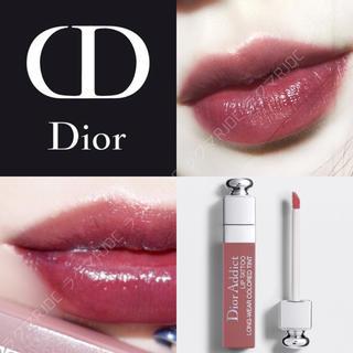 ディオール(Dior)の【新品箱なし】販売終了 リップティント 491 ローズウッド ブルベ向きブラウン(口紅)