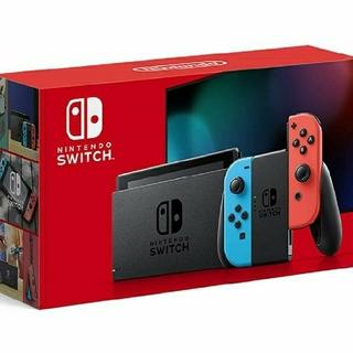 Nintendo Switch - 【新品・送料込】ニンテンドースイッチ本体 ネオンブルー/ネオンレッド