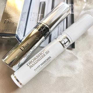 ディオール(Dior)の【ミニサイズ2種セット】ディオール オーバーカール マスカラ マキシマイザー3D(まつ毛美容液)