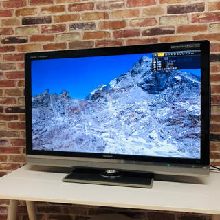 AQUOS - SHARP AQUOS クアトロン 40V型 液晶テレビ LC-40LX3