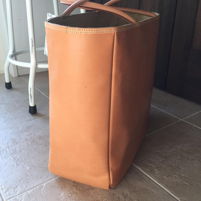 MUJI (無印良品)(ムジルシリョウヒン)の専用ページ 無印 ヌメ革 トートバッグ レディースのバッグ(トートバッグ)の商品写真