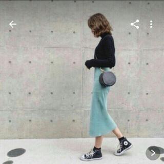 Mila Owen - ミラオーウェン★スリットニットタイトスカート