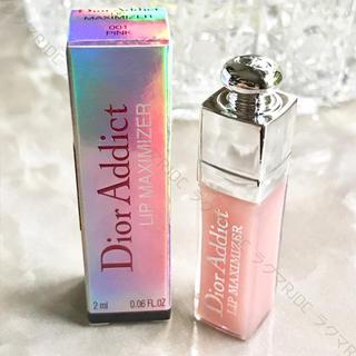 ディオール(Dior)の【新品箱有】可愛いミニチュア♡ ディオール マキシマイザー 001 ピンク(リップグロス)