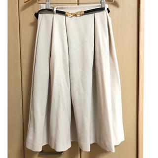 ハニーズ(HONEYS)のHoneys、フレアスカート、ベルト付き(ひざ丈スカート)