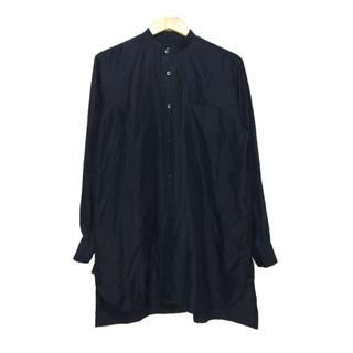 COMOLI - コモリ COMOLI ■ 【 K01-02007 】シルク スタンドカラーシャツ