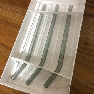 ルイヴィトン(LOUIS VUITTON)の新品未使用 ルイヴィトン美術館限定 ガラスストロー6個セット(グラス/カップ)