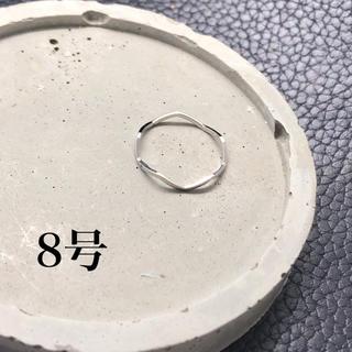 プチプラアクセサリー 極細ウェーブリング(リング(指輪))