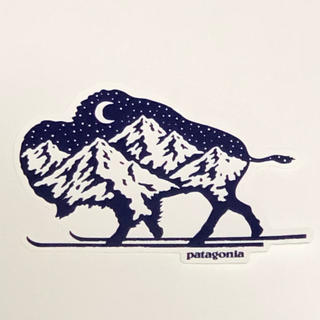 patagonia - パタゴニア ノルディックバイソン ステッカー