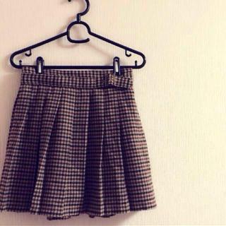 ローリーズファーム(LOWRYS FARM)のチェック柄スカート♡(ミニスカート)