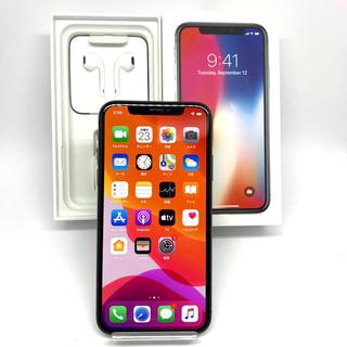 iPhone - SIMフリー Apple iPhoneX 256GB グレー