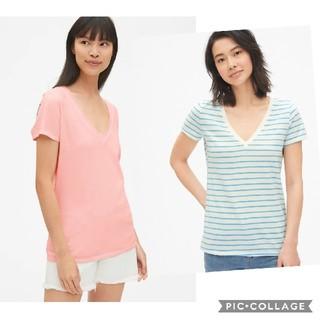 ギャップ(GAP)のvネックtシャツ gap 2枚(Tシャツ(半袖/袖なし))