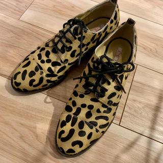 スライ(SLY)の値下げ☆SLY レオパード 靴(ローファー/革靴)