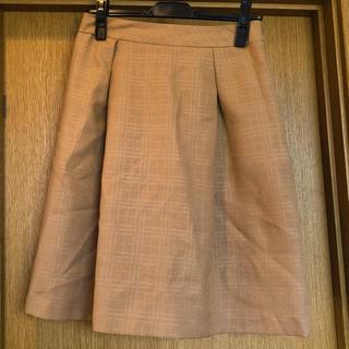 ハニーズ(HONEYS)の台形フレアスカート 通勤 膝丈スカート(ひざ丈スカート)