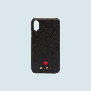 ミュウミュウ(miumiu)のmiumiu iPhoneX /Xs /XRケース iPhoneケース(iPhoneケース)