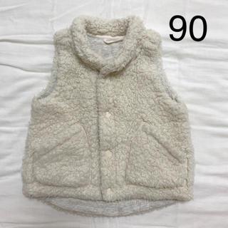 UNIQLO - ユニクロ  ボアフリースベスト size90