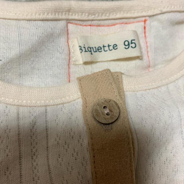 Biquette(ビケット)のビケットワンピース チュニック 95センチ キッズ/ベビー/マタニティのキッズ服 女の子用(90cm~)(ワンピース)の商品写真