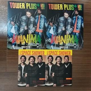 4点セット WANIMA ワニマ 冊子 TOWER PLUS & スペシャ