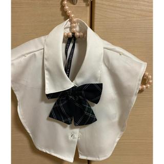 シマムラ(しまむら)のつけ襟、リボン新品未使用(つけ襟)