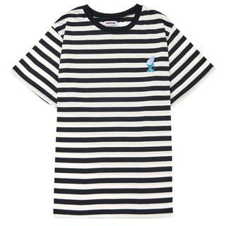 プニュズ(PUNYUS)のセール!punyus ワンポイントボーダーTシャツ 大きいサイズ(Tシャツ(半袖/袖なし))