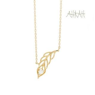 AHKAH - アーカー K18YG ダイヤ フェニーチェネックレス