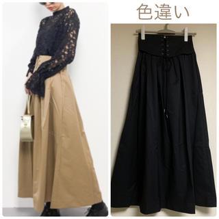 JEANASIS - 定価7020円❤️【新品】JEANASISコルセットデザインロングスカート♡