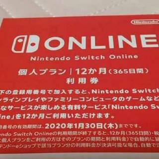 Switch12ヶ月オンライン利用券