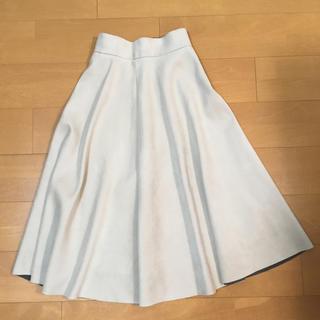 TOMORROWLAND - トゥモローランド  ボールジー  フェイクスエード スカート