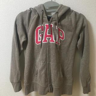 ギャップ(GAP)のGAP パーカー ブラウン S(パーカー)