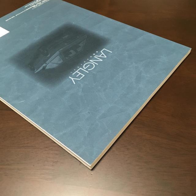 日産(ニッサン)の絶版車 カタログ 日産 ラングレー 自動車/バイクの自動車(カタログ/マニュアル)の商品写真