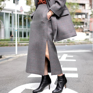 auralee スカート tweed 0サイズ