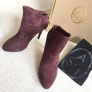 アッシュ(ASH)の新品 未使用 ASH スエード ショートブーツ ブーツ ブーティ ボールド(ブーツ)