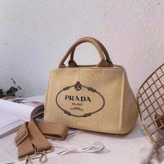 PRADA - 超稀少 ベージュ PRADA プラダ トートバッグ