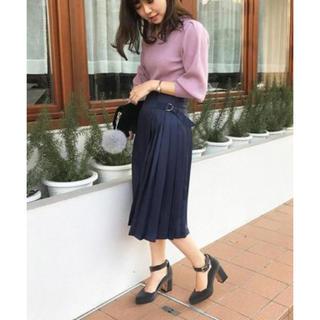Noela - ラッププリーツスカート