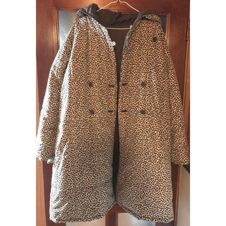軽くて暖かい リバーシブル中綿ロングコート(ロングコート)