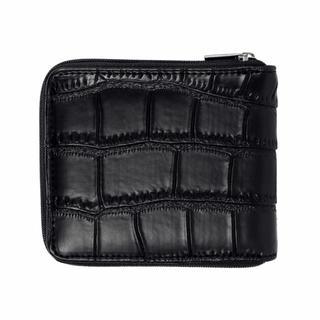 二つ折りファスナー財布