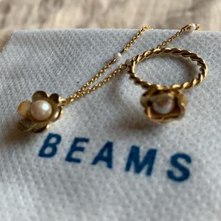 ビームス(BEAMS)のBEAMS ネックレス 指輪 セット(ネックレス)
