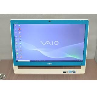ソニー(SONY)のWin10+office ソニー VPCJ218FJ 第二世代i5/1TB/BD(デスクトップ型PC)