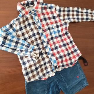 ビームス(BEAMS)のSHIPS ネルシャツ BEAMS パンツ(Tシャツ/カットソー)