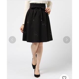 MISCH MASCH - 刺繍装飾フレアスカート
