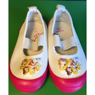 ディズニー(Disney)の大幅値下げプリンセス 上履き シューズ 上靴 14 ㎝(その他)